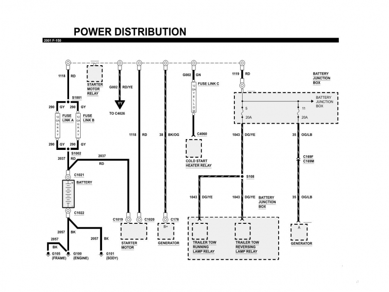 1998 Ford F150 Wiring Diagram : Ford f fuel pump wiring diagram forums