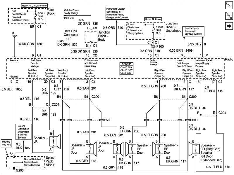 2003 chevy silverado wiring diagram - wiring forums, Wiring diagram