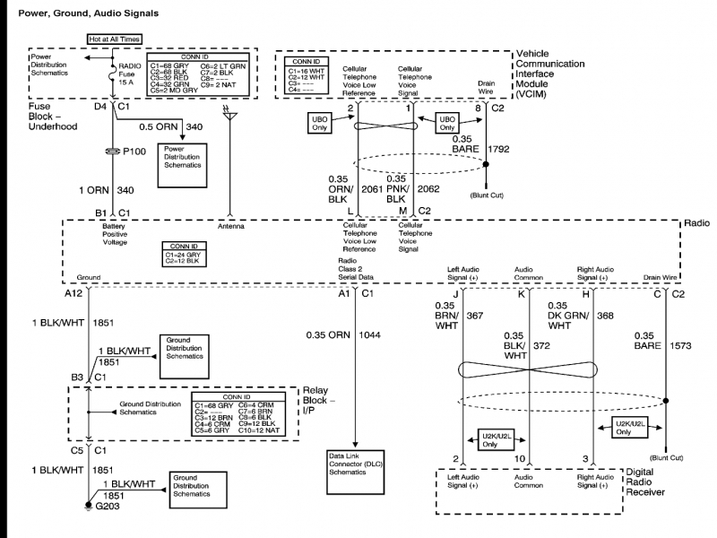 2007 Chevy Avalanche Stereo Wiring Diagram - Wiring Forums on