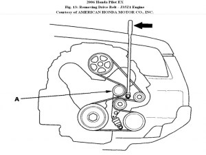 Honda Pilot Serpentine Belt Diagram  Wiring Forums
