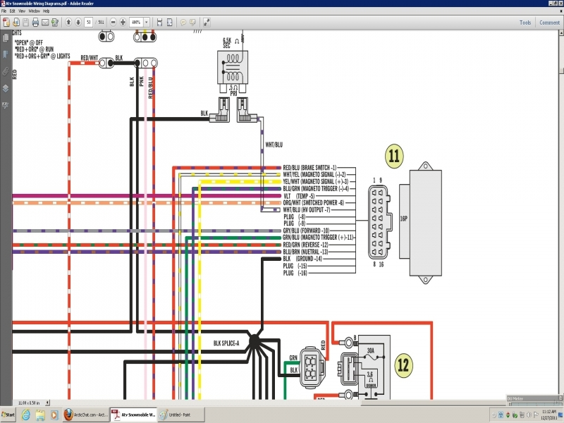 Arctic Cat 400 Wiring Diagram  Wiring Forums
