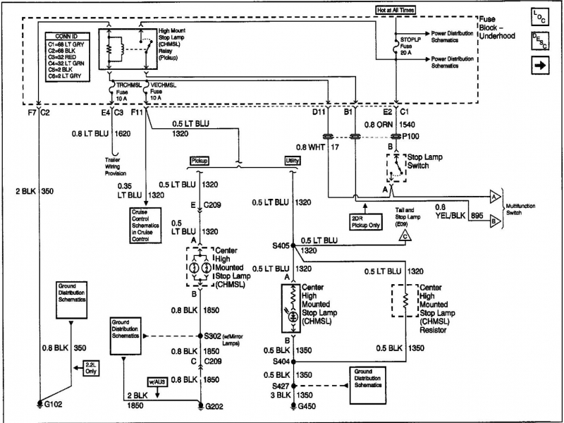 2004 Savana Wiring Diagram