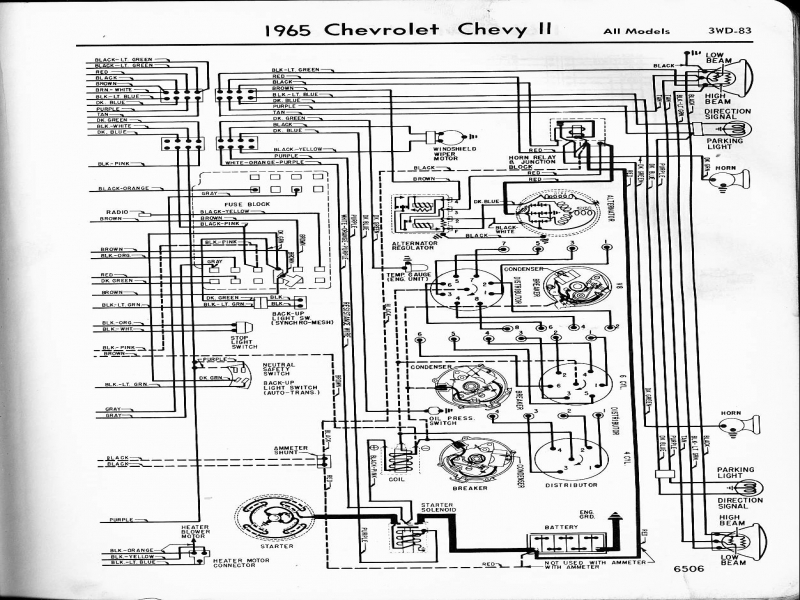 Wiring Diagram For 1965 Chevy Pickup - Wiring Forums