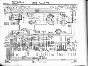 1959 Ford Alternator Wiring Diagram  Wiring Forums