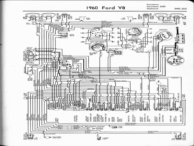 1966 Ford Galaxie 500 Diagram  Wiring Forums