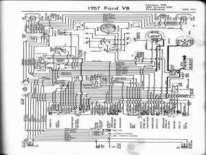 Wiring Diagram For 1957 Ford Thunderbird  Wiring Forums