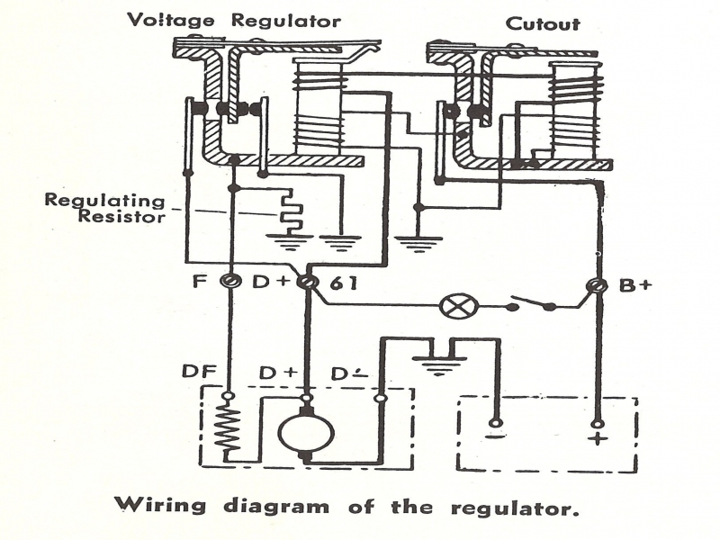 12 Volt Generator Voltage Regulator Wiring  Wiring Forums