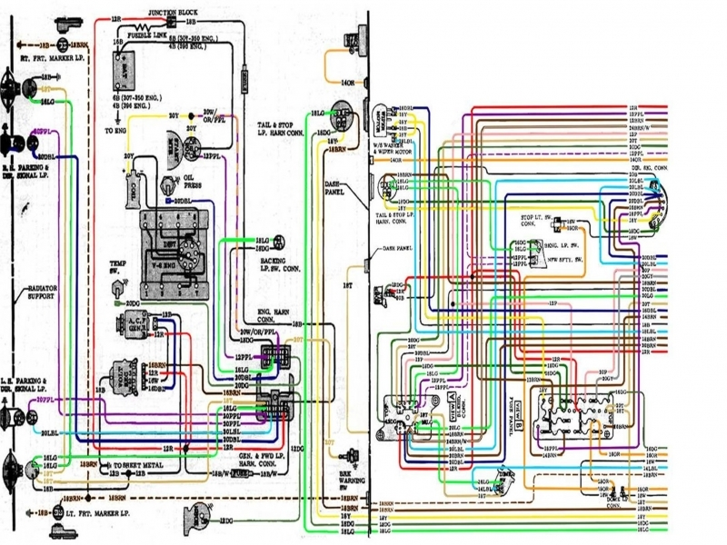 1972 Chevy C10 Pickup Truck Wiring Diagram  Wiring Forums