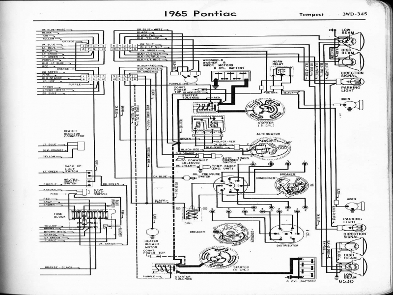 1967 Pontiac Firebird Wiring Diagram  Wiring Forums