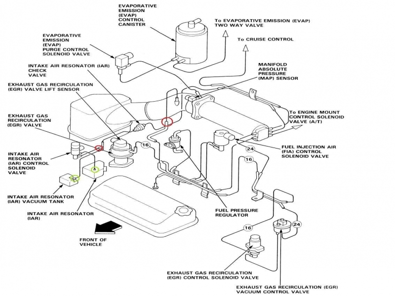 1992 Honda Accord Ecu Wiring Diagram