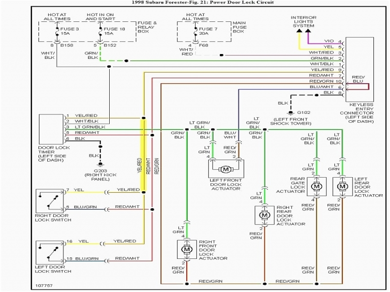 1998 Subaru Legacy Radio Wiring Diagram  Wiring Forums
