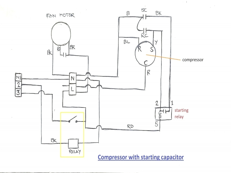 payne ac capacitor wiring diagram air conditioner capacitor wiring diagram - wiring forums