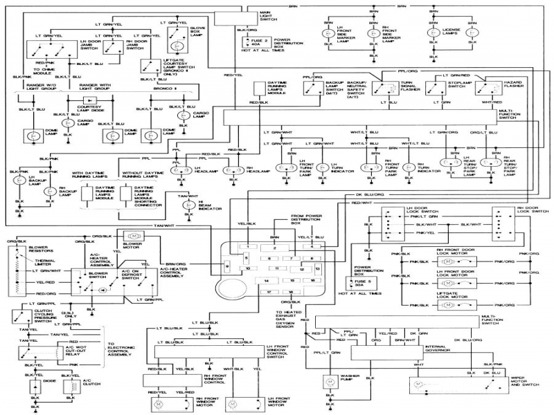 1990 bronco 2 wiring diagram for transfer case   46 wiring