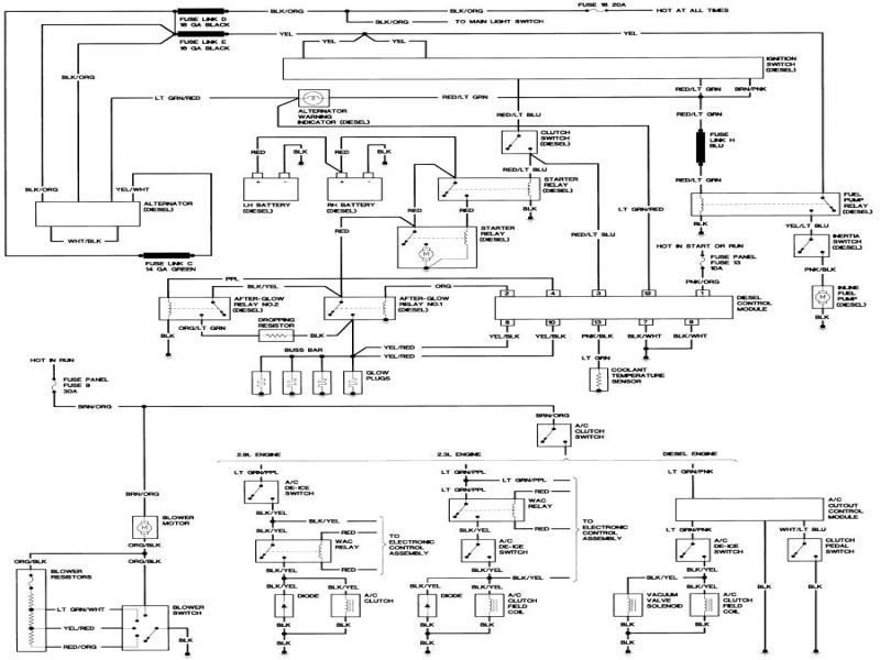 Chevy S10 Fuel Gauge Wiring Diagram. Fuel Sending Unit