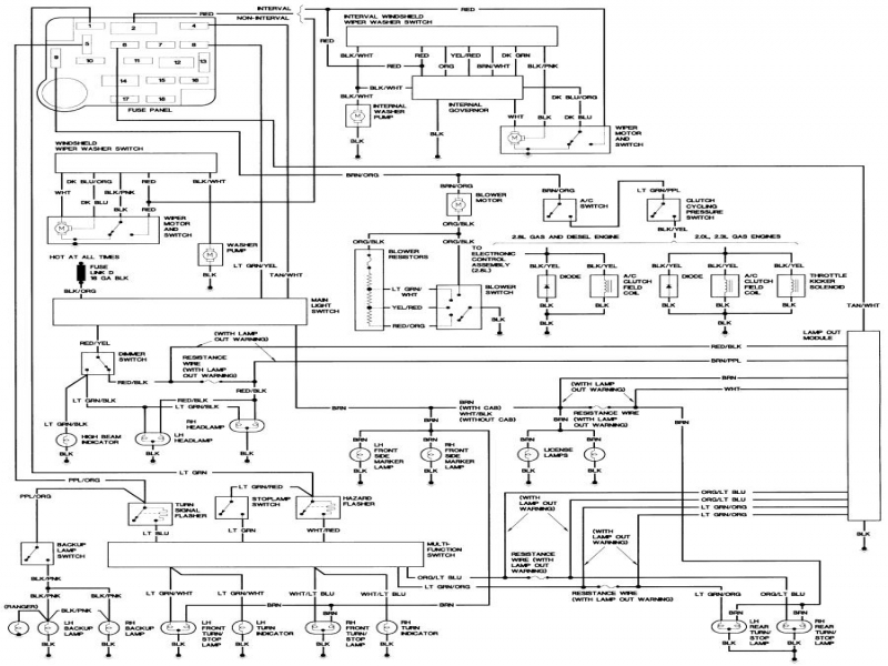 1989 Ford Bronco Ii Wiring Diagram  Wiring Forums