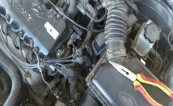 Car Heater Hose Replacement And Modification. Coolant Leak Repair