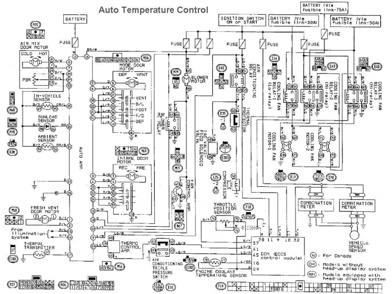 1995 Nissan Maxima Transmission Diagram