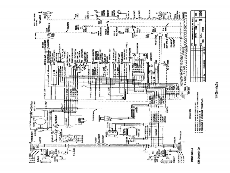 1955 Chevy Fuse Panel Diagram  Wiring Forums