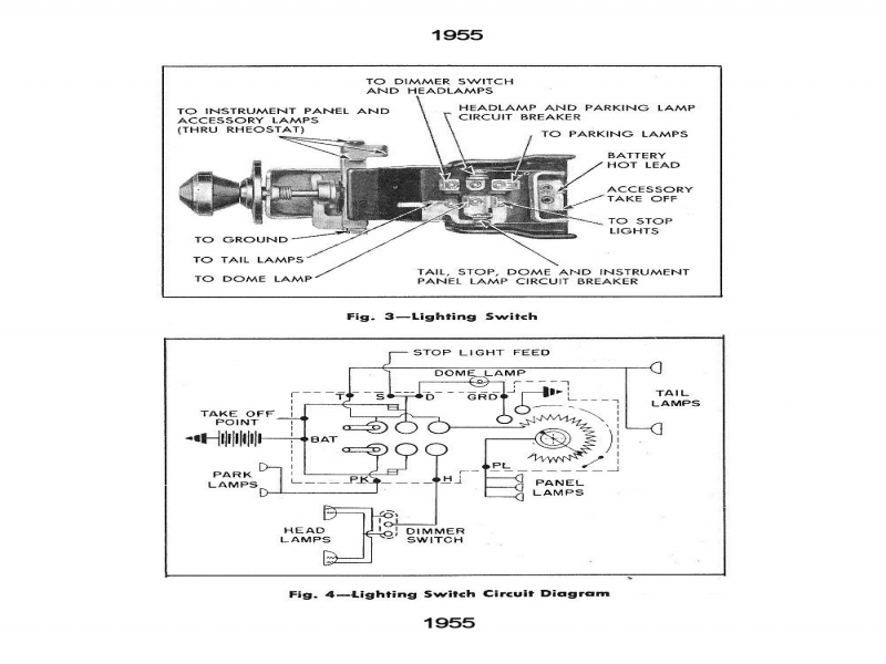 1941 Ford Headlight Switch Wiring Diagram