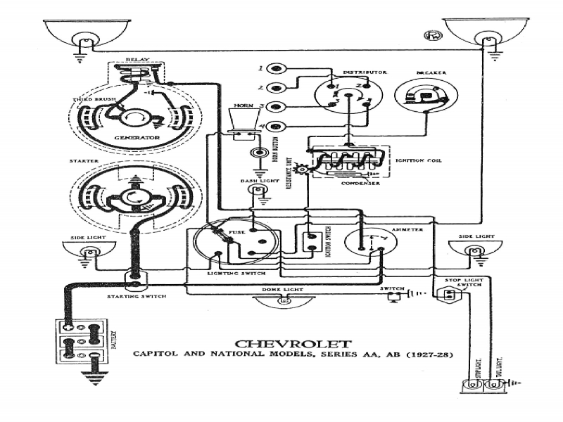 Wiring Diagram For 1930 Ford Model A  Wiring Forums