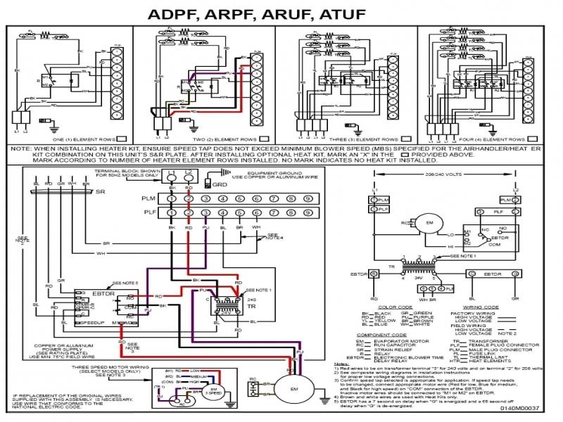 Coleman Heat Pump Manual Start Wiring Diagram  Wiring Forums