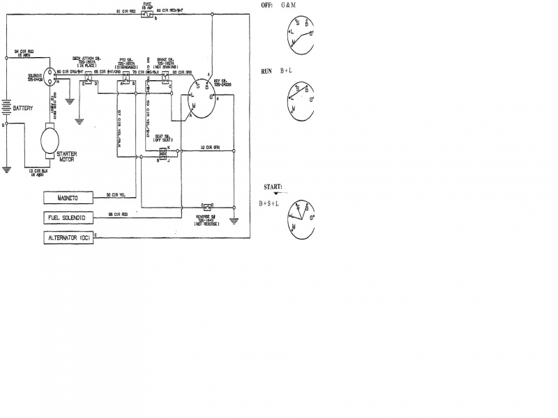 Attractive Sears Tractor Wiring Diagram Ensign - Electrical Circuit ...