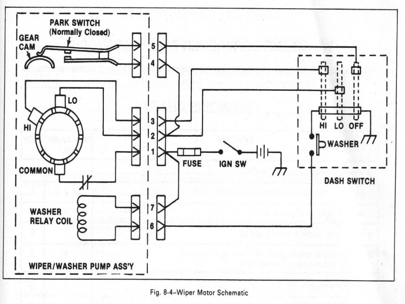 1965 Corvette Wiper Motor Wiring Diagram  Wiring Forums