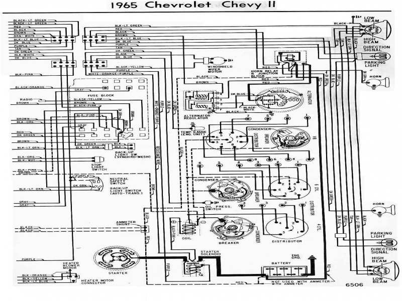 Wiring Diagram For A 1965 Corvette  Wiring Forums