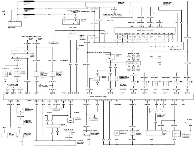 1995 Nissan Pathfinder Radio Wiring Diagram Archives
