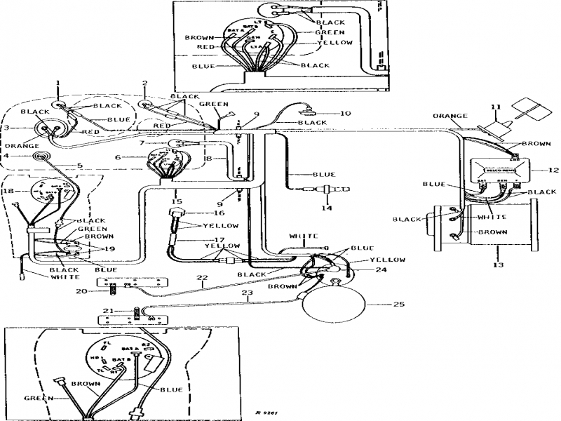JOHN DEERE 950 WIRING DIAGRAM FOR ALTERNATOR  Auto