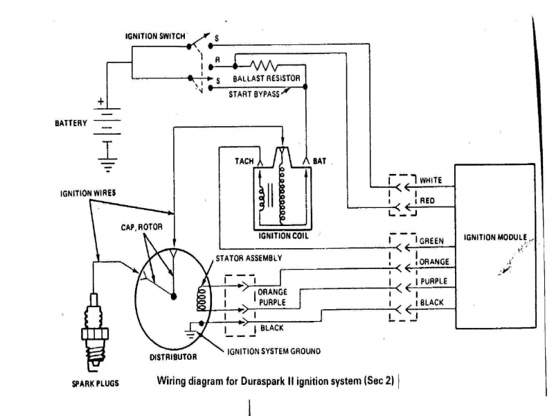 dodge electronic ignition wiring diagram ignition coil wiring rh parsplus co Mopar Electronic Ignition Wiring Diagram Mopar Electronic Ignition Wiring Diagram