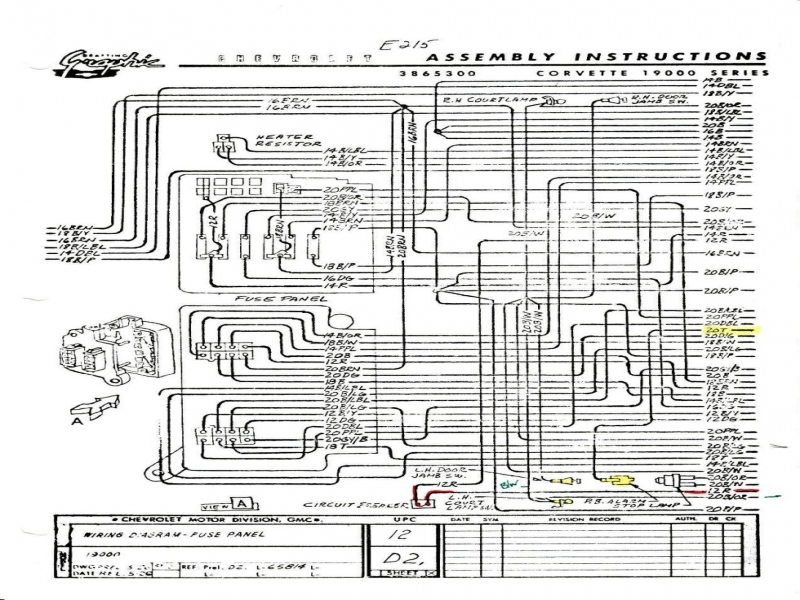 Exciting 1980 Corvette Wiring Diagram Gallery - Ufc204