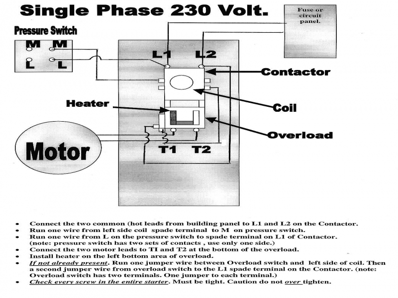 General Electric Motor Wiring Diagram