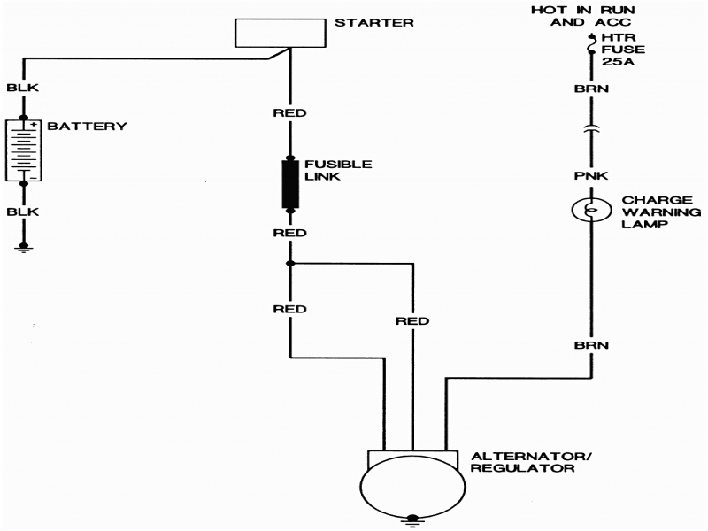 Gm Internal Regulator Alternator Wiring Diagram  Wiring