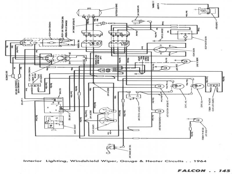 63 Ford Falcon Heater Wiring Diagram  Wiring Forums
