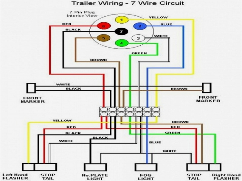 4 Wire Trailer Wiring Diagram For Lights - Wiring Forums