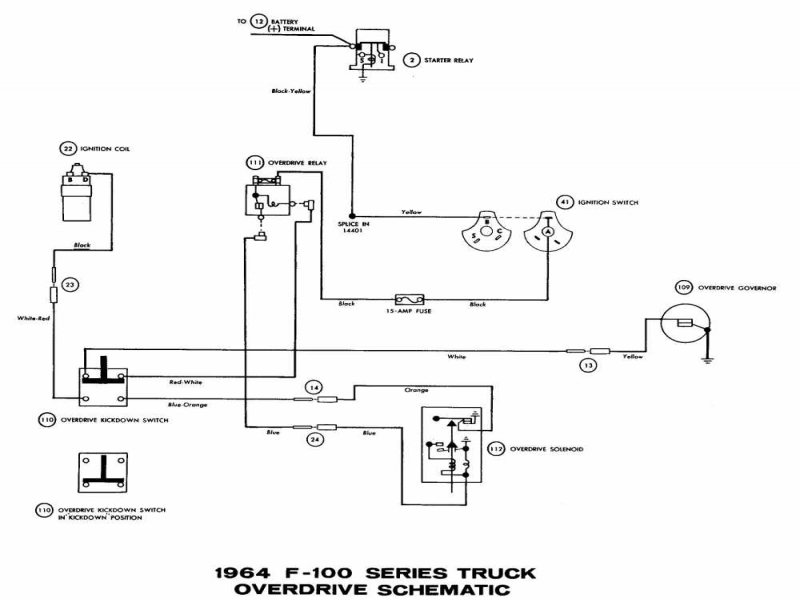 Cool Wiring Diagram 1964 Ford F100 Contemporary - Best Image Engine ...