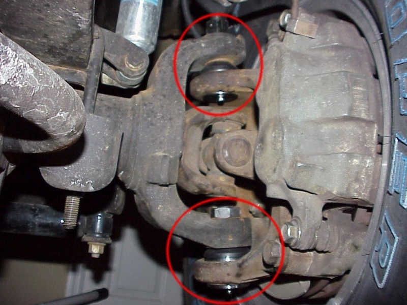 Ford F150 F250 Front Suspension Is Clunking - Ford-Trucks