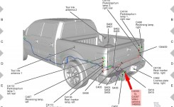 Ford F150 F250 Install Rearview Backup Camera How To – Ford-Trucks