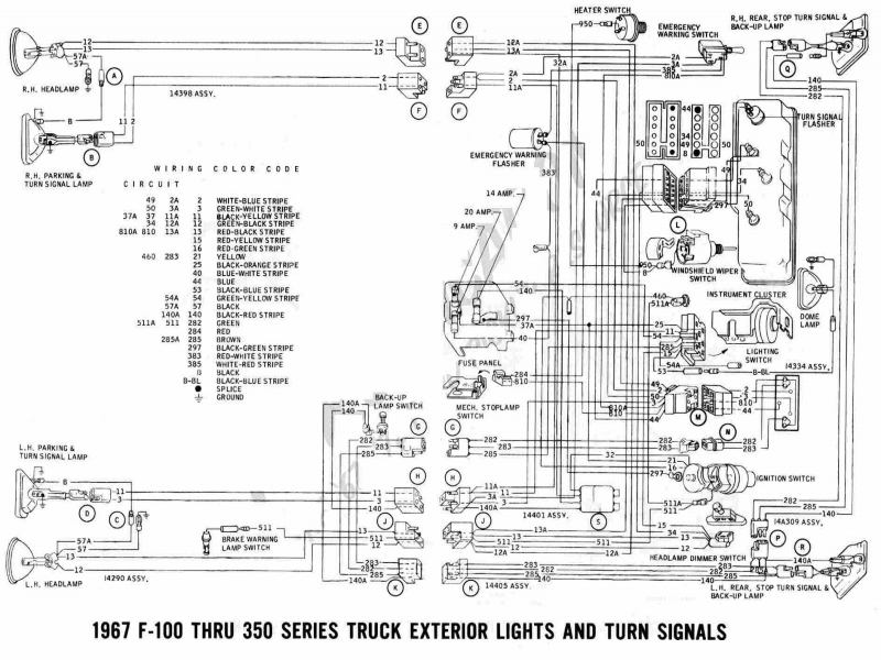 Ford F650 Turn Signal Wiring Diagram