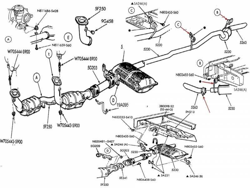 2000    Ford       Windstar    Exhaust    Diagram        Wiring    Forums
