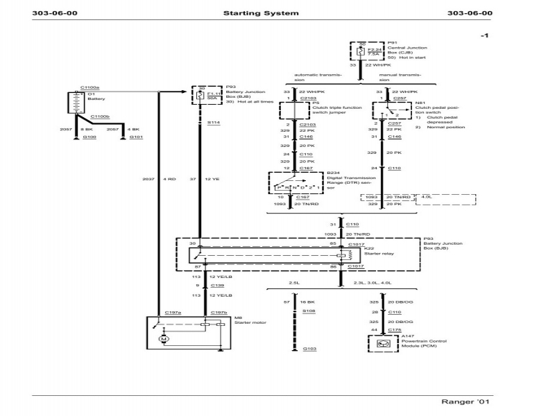 In Addition Starter Solenoid Wiring Diagram Furthermore 2001 Ford  Wiring Forums