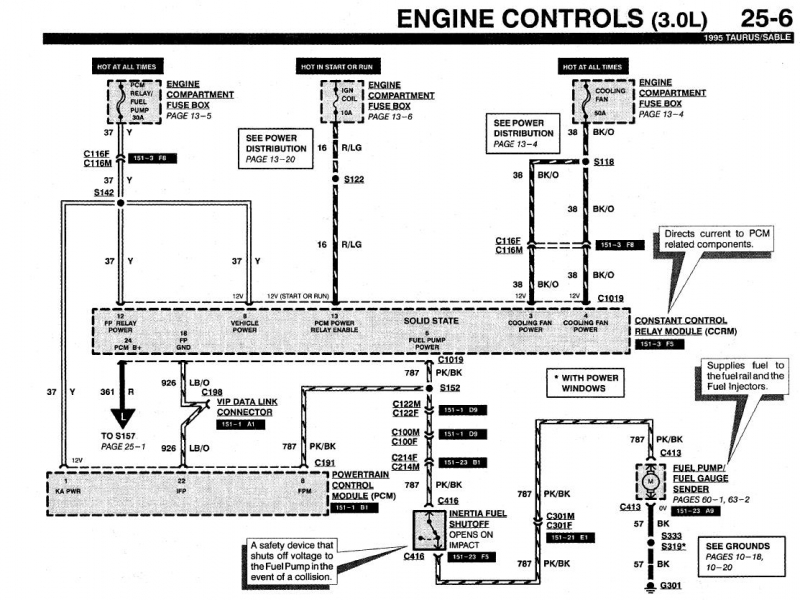 2001 ford taurus firing order diagram wiring forums 1986 ford f 350 fuel pump relay wiring diagram