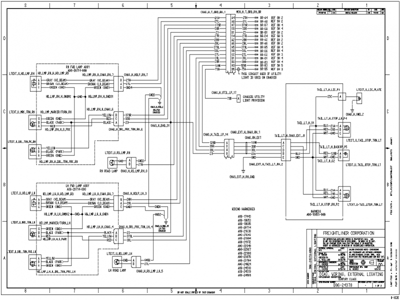 2006 Freightliner Columbia Fuse Box Diagram  Wiring Forums