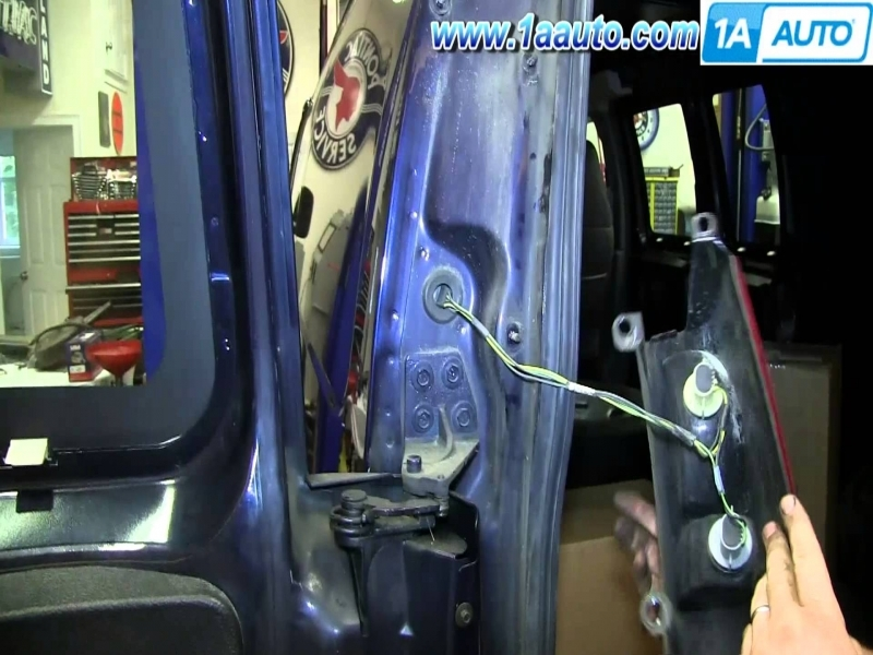 2000 Chevy Express Van Tail Light Wiring Harness
