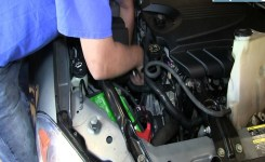 How To Install Replace Engine Serpentine Belt Tensioner 2006-12