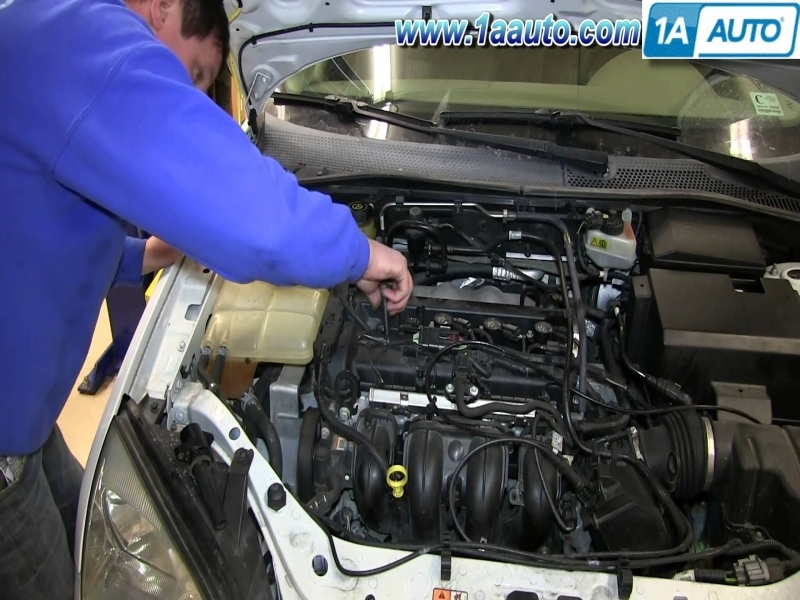 How To Install Replace Spark Plugs 2.0L Ford Focus - Youtube