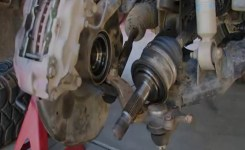 How To Replace Front Axle Cv Joint In Chevy Silverado – Youtube