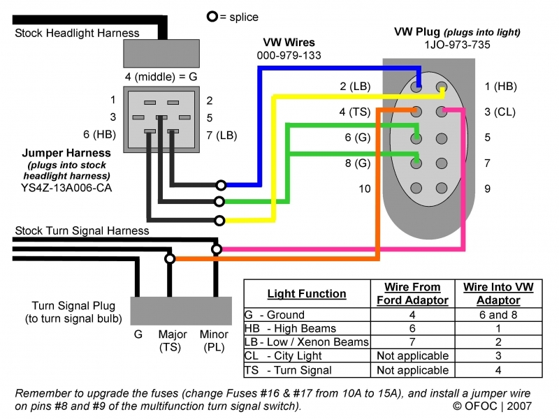 Ford Hid Headlights Wiring Diagram
