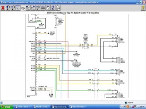 2003 Impala Stock Radio Wiring Diagram  Wiring Forums